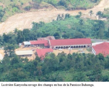 Changement climatique : les températures de l'air en moyenne annuelle augmentent progressivement au Burundi au 21ème siècle.