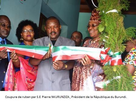 Inauguration de la Radio TV Buntu-Ijwi ry'Impfuvyi n'Abapfakazi