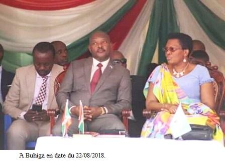 La famille présidentielle organise une prière d'action de grâce à Buhiga.